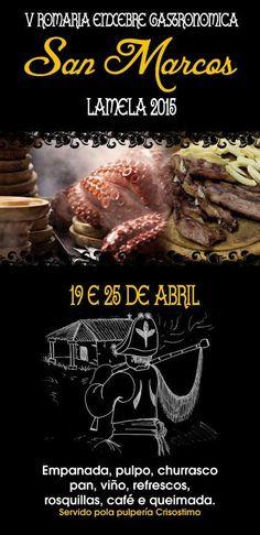 V Romería Enxebre Gastronómica de San Marcos en SILLEDA.
