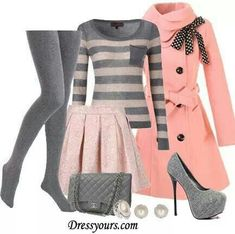 This outfit really wouldn't suit me (horizontal stripes, and light colours), but I love it anyway!