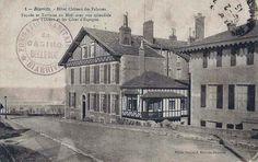 Pays Basque 1900: L'Hôtel Château des Falaises à Biarritz