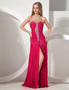 #Milanoo.com Ltd          #Prom Dresses             #Fuchsia #Rhinestone #Splitting #Strapless #Chiffon #Woman's #Prom #Dress     Fuchsia Rhinestone Splitting Strapless Chiffon Woman's Prom Dress                                       http://www.snaproduct.com/product.aspx?PID=5694817