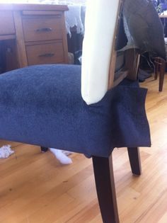 how do you reupholster dining room chairs | DIY: Re-Upholster Your Parsons Dining Chairs (Tips From A ...
