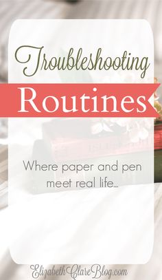What do we do when kids, husbands, and illness gets in the way of our routines and schedules? How do we still keep our housework on track and more. GREAT advice!