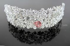 #Tiara #Tiara #Alloy Trendy Alloy with Rhinestone Wedding Bridal Tiara
