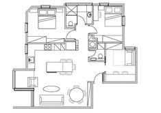 מיקום זה הכל בחיים: שיפוץ דירה בת 30 שנה | בניין ודיור