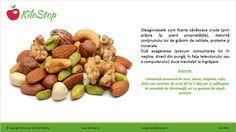 Ca să nu te #îngrași, limitează consumul de #nuci, #alune, #migdale, #caju, #fistic sau alte #semințe la 1 căuş/zi. Thing 1, Almond, Health, Food, Health Care, Almond Joy, Meals, Salud, Almonds