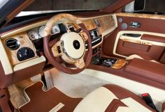 Mansory Rolls Royce White Ghost Limited interior
