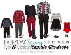 Here are some great ideas for coordinating family photo outfits. Even if you are… Here are some great ideas for coordinating family photo outfits. Even if you are not getting portraits taken, these are fun outfits for this winter and the holidays. Family Portrait Outfits, Fall Family Photo Outfits, Matching Family Outfits, Family Portraits, Beach Portraits, Christmas Pictures Outfits, Family Christmas Pictures, Holiday Outfits, Family Holiday