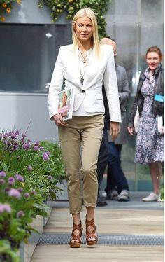 Gwenyth in khakis