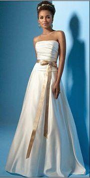 Alfred Angelo #477 Style 2017w Wedding Dress $160