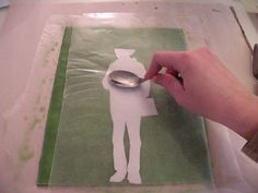 Encaustic 101: Image Transfers. Tutorial by Haley Nagy.