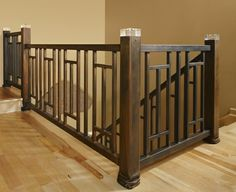 LED stair rail by Stefani & Co. It lights up - and check out the detail at the bottom!
