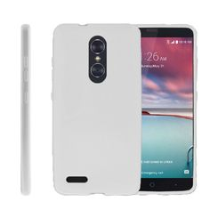 ZTE ZMax Pro FLEX FORCE Flexible Slim Fit Case- White