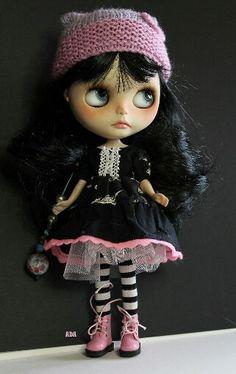 Blythe Dolly - cute as heck!