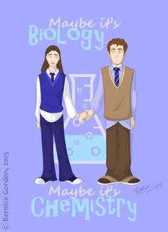Maybe it's biology / Maybe it's chemistry (v4) || Jemma Simmons, Leo Fitz || by Gishkishenh || #fanart #fitzsimmons
