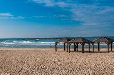 Tel Aviv Beach by Jacky COSTI©- Photography on 500px