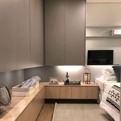 20 Awesome Details Bedroom With Amazing Decoration That You Will Love It – Schlafzimmer Ideen Home Decor Bedroom, Modern Bedroom, Contemporary Bedroom, Bedroom Ideas, Bedroom Classic, Minimalist Bedroom, Bedroom Wardrobe, Master Bedroom, Kids Bedroom