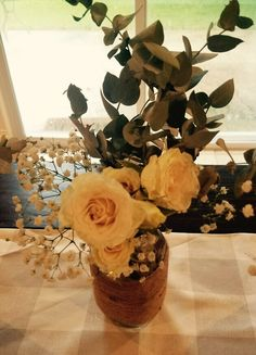 Simple Wedding Bouquet Babys Breath