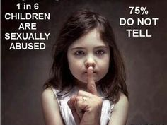 Not afraid no more started with my dads father I was age 2 or 3 then kept on going on most my life.