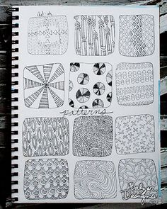 Balzer Designs: Paperclipping Pattern Doodles