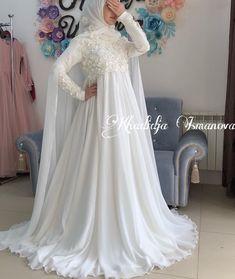 Muslimah Wedding Dress, Hijab Style Dress, Disney Wedding Dresses, Hijab Bride, Pakistani Wedding Dresses, Princess Wedding Dresses, Elegant Wedding Dress, Modest Wedding Dresses, Bridal Dresses