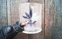 DIY Tutorial: Glas gravieren – Nur noch