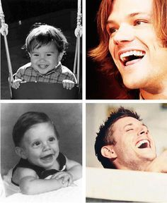 aww ADORABLE!!!   Omg if that really is Jensen he was so not a cute baby. but thats ok cuz he sure is hot now.