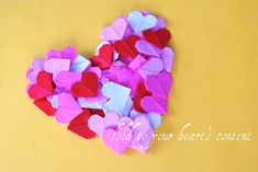 Valentine's Day How To: Origami Hearts.