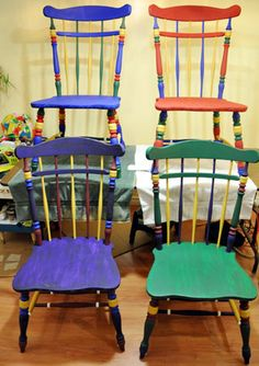 571 best chairs images stool painted furniture recycled furniture. Black Bedroom Furniture Sets. Home Design Ideas