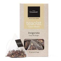 Teaolat Invigorate - Cacao & Ginger,