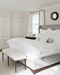 Turn your bedroom into a luxurious hotel roomPosted on July 23, 2014 by Wendy WeinertTurn your bedroom into a luxurious hotel room #LuxuryBeddingWhite