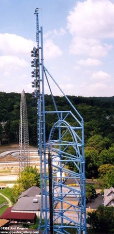Mr. Freeze Reverse Blast (Six Flags St. Louis)  Really wanna ride this!!!