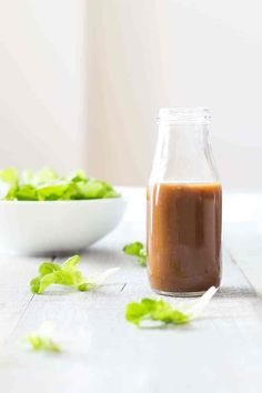 The absolute very best best best salad dressing in the world!! This Maple Mustard Balsamic Dressing recipe will end up being your one and only forever!