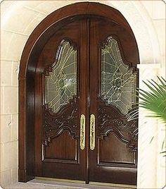 Custom Entry Door Wood Wood Entry Doors, Front Door Entrance, Front Entry, Doorway, Doors Galore, Door Prizes, Main Door Design, Unique Doors, House Doors