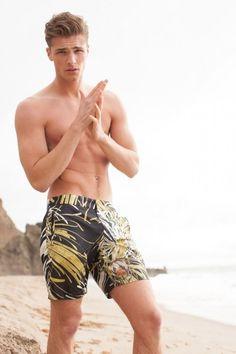 Edward Wilding + Thor Bulow Model Swimwear for Mr Turk image Edward Wilding Mr Turk 001