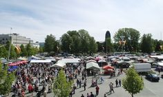 Joensuu Market Place - great shopping for local fish and carelian pies
