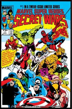 Check Out Secret Wars 1 On Comixology Marvel Comics Marvel Comic Books