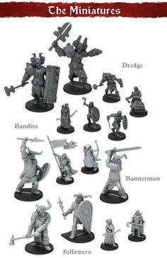 The Banner Saga Warbands by MERCS Miniatures — Kickstarter