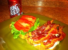 In honor of APORKALYPSE I made a old school bacon sandwich ;-P
