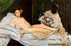 Olimpia, Édouard Manet, 1863 IMPRESIONISMO