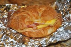 Make-Ahead Breakfast Croissants - family loved these. Really easy. I only made 3. I know I'll make them again.