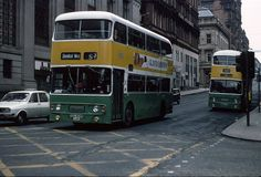 53 to Shieldhall West on Renfield Street, Glasgow in Picture: Martin Addison. Draw On Photos, Old Photos, Take The High Road, The Second City, Coaches, Buses, Glasgow, Trains, Birth