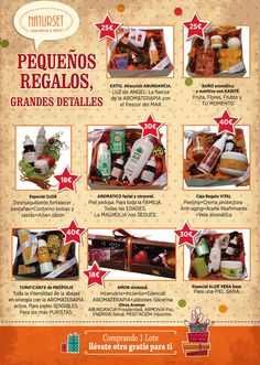 Promoción lotes de Navidad Naturset Baricentro