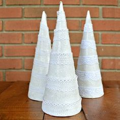 Deck the Halls and Learn How to Make Your Own Faux Christmas Trees - thegoodstuff