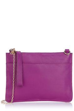 The Stephanie Leather Clutch