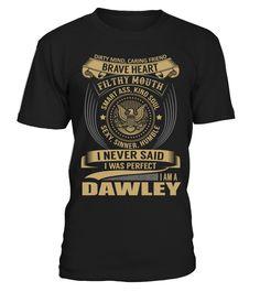 DAWLEY - I Nerver Said