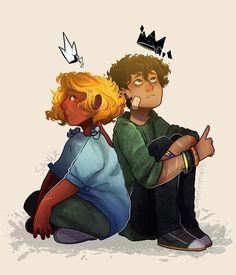 Hazel and Nico