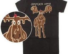 Chocolate Moose Night Shirt
