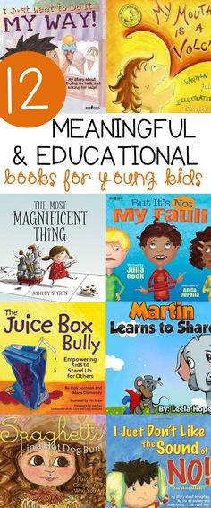 This list of meaningful and educational books for kids is a great one for classroom read alouds when learning about social skills, manners, and more!