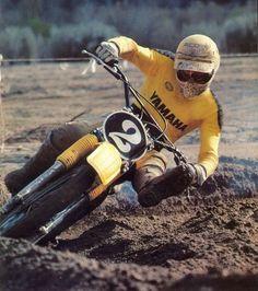 Bob Hannah. Vintage MX