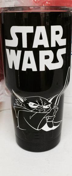 Star Wars 30oz Yeti cup Lonestar Concepts & Design lonestarjess15@yahoo.com